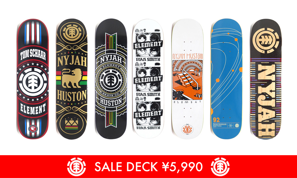 element sale deck