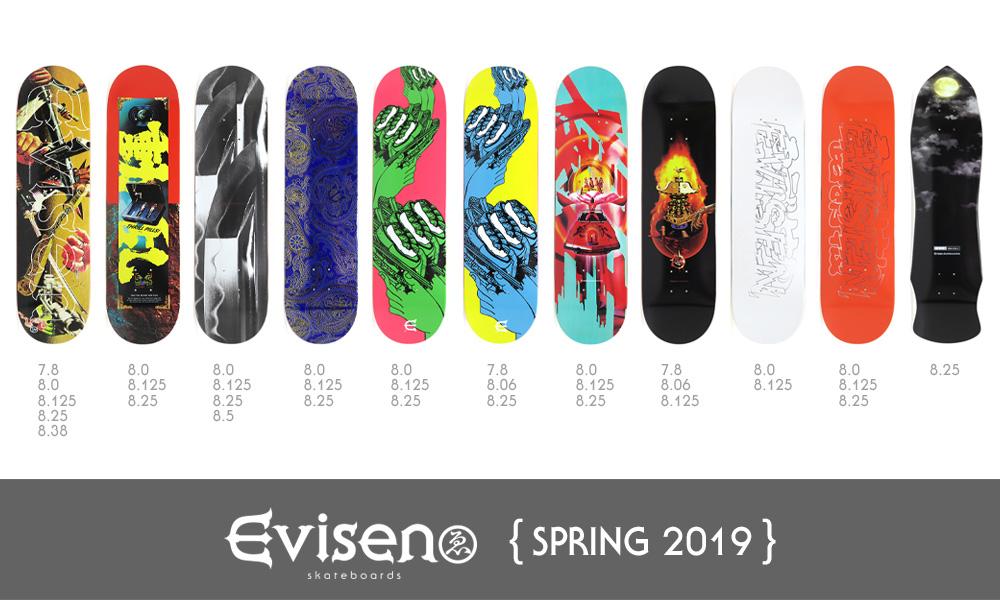 EVISEN DECK 2019 SPRING