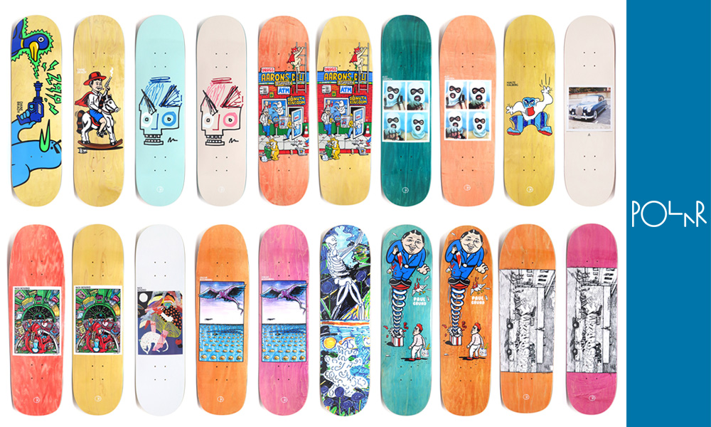 polar skateboards deck