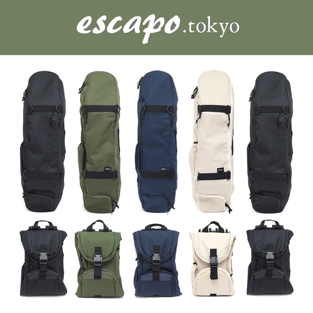 【商品情報】ESCAPO SKATE BAG
