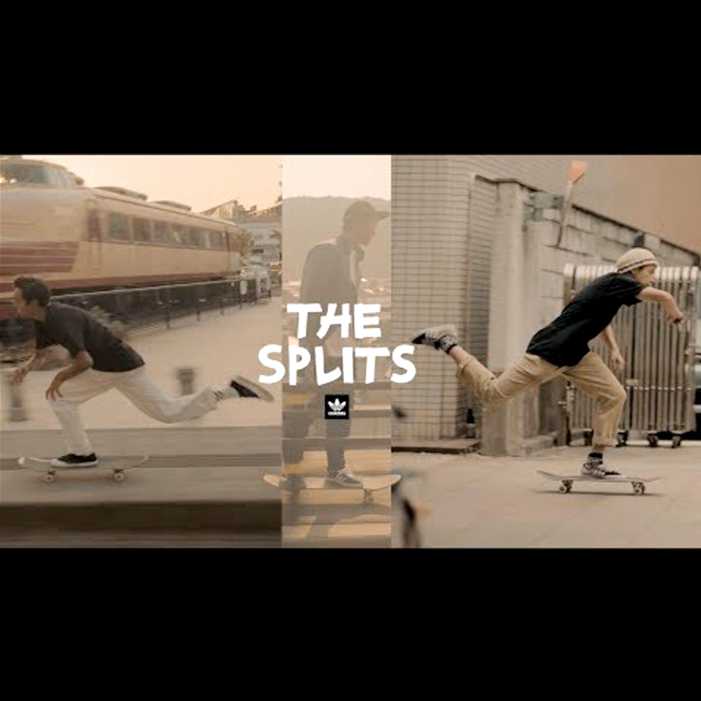 【海外・INFO】THE SPILITS : ADIDAS SKATEBOARDING JAPAN
