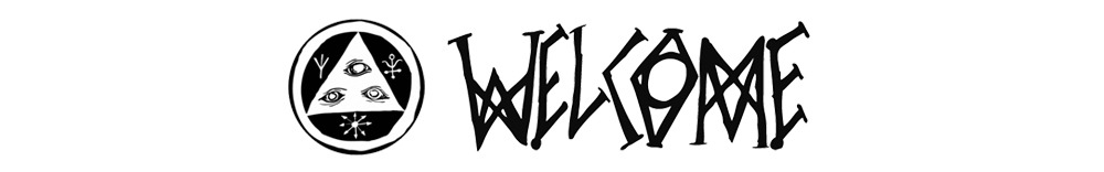 WELCOME SKATEBOARDS LOGO