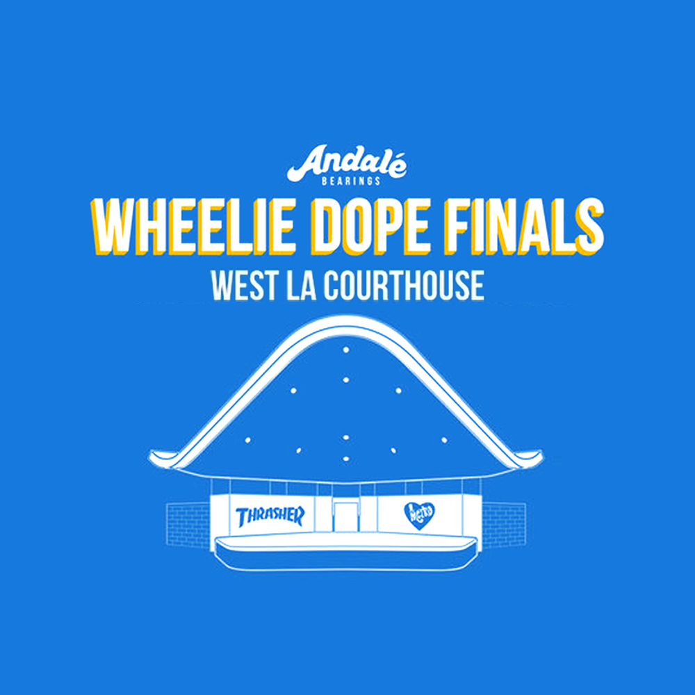 【海外・INFO】ANDALE BEARINGS : WHEELIE DOPE FINALS 2017 RECAP