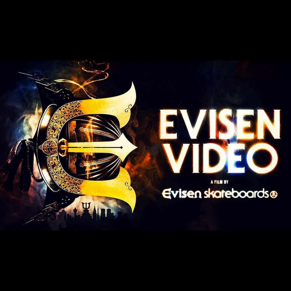 【国内・INFO】EVISEN SKATEBOARDS : OFFICIAL TRAILER 2