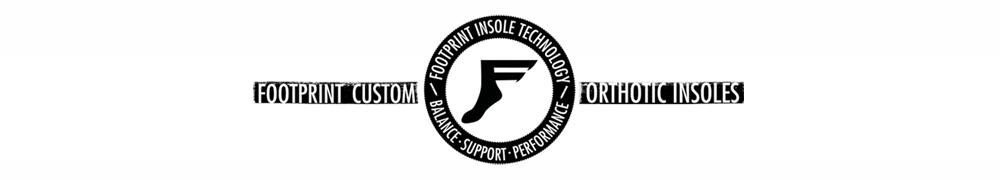 FOOTPRINT INSOLE, フットプリント インソール, LOGO