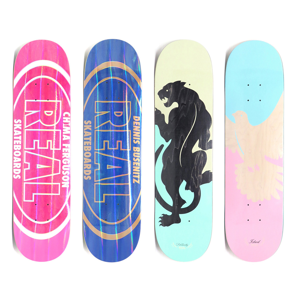 【商品情報】REAL SKATEBOARDS : HOLOGRAPHIC OVAL、RESISTANCE SWERVE AND NEGLECT