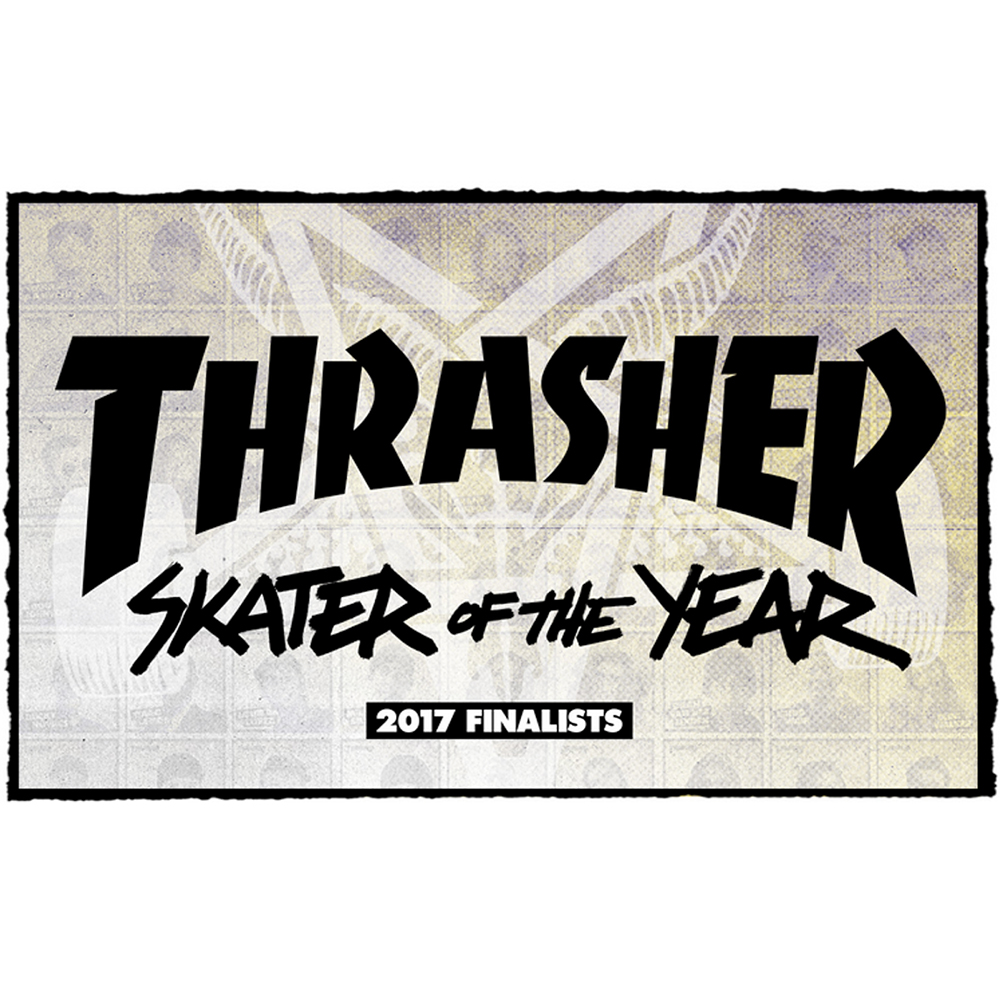 【海外・INFO】SKATER OF THE YEAR 2017 : FINALISTS