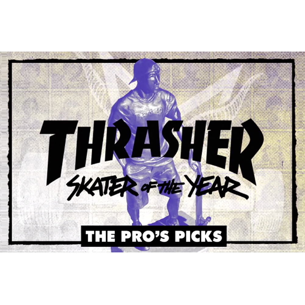 【海外・INFO】SKATER OF THE YEAR 2017 : PRO'S PICKS