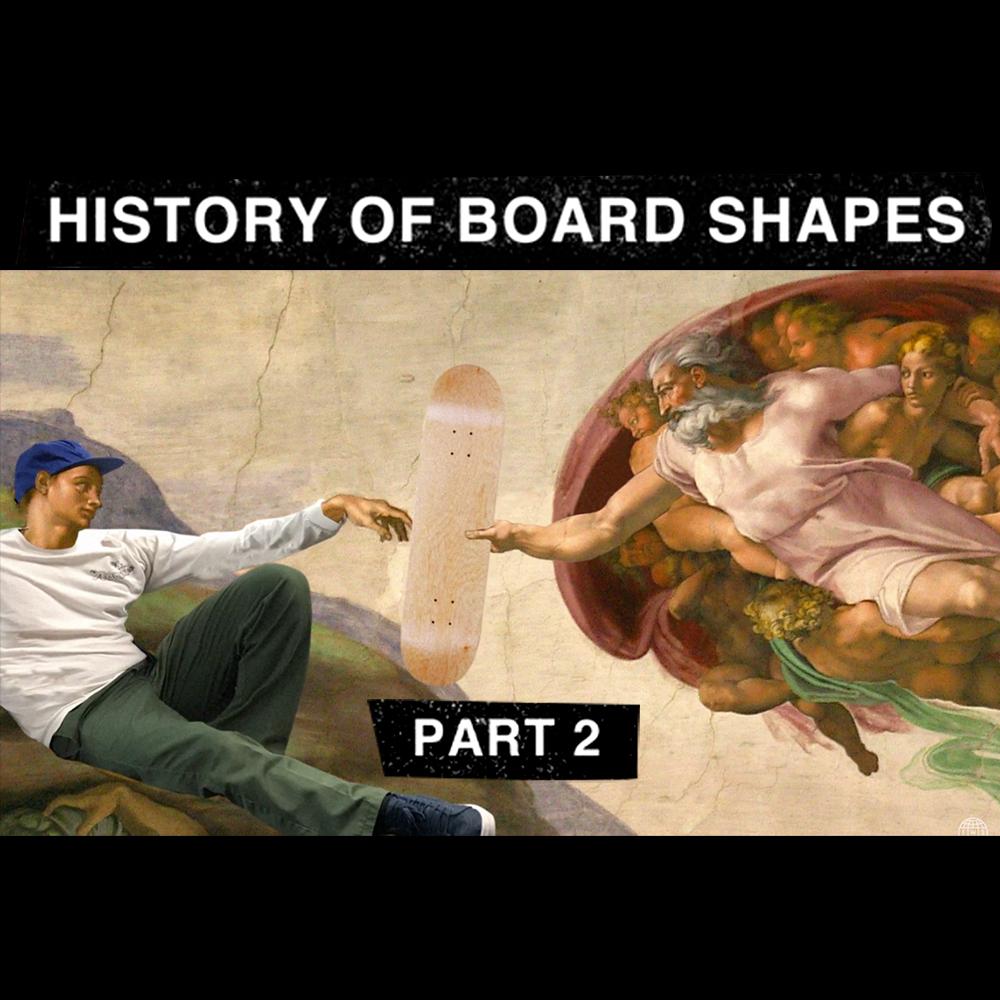 【海外・INFO】TWS : THE HISTORY OF BOARD SHAPE, PART 2