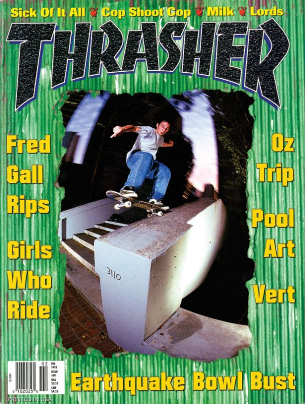 THRASHER MAGAZINE 1995年02月号