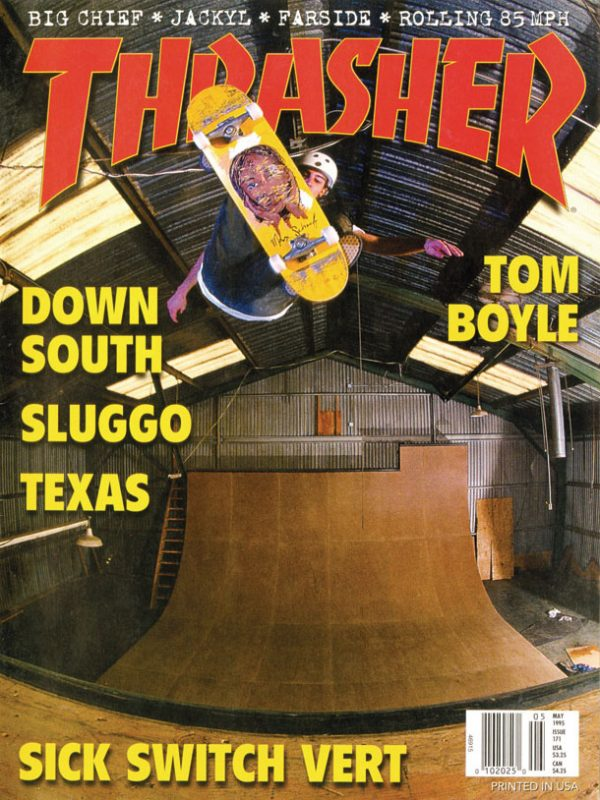 THRASHER MAGAZINE 1995年05月号