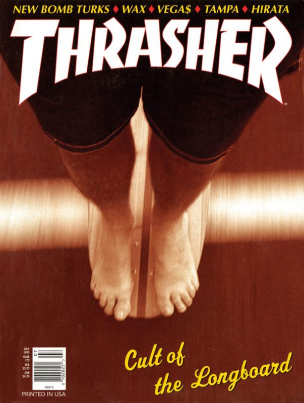 THRASHER MAGAZINE 1995年07月号