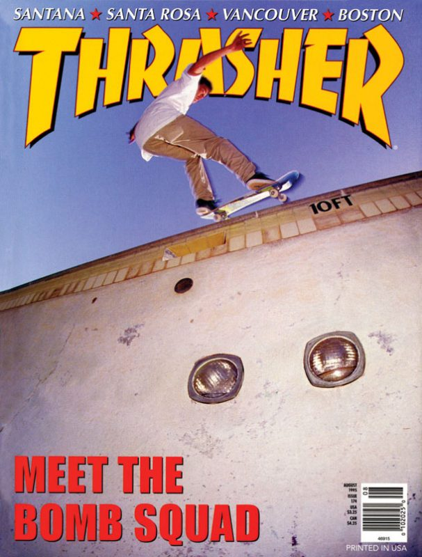 THRASHER MAGAZINE 1995年08月号