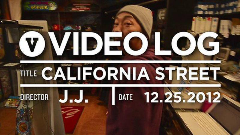カリフォルニアストリート VHS MAG VIDEO LOG 2012年