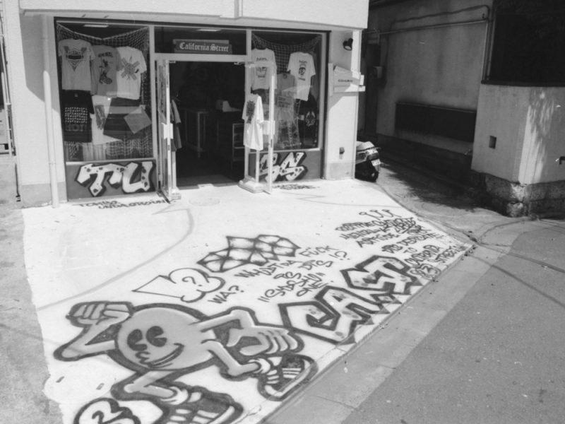 カリフォルニアストリート 代官山 店頭写真 1993年
