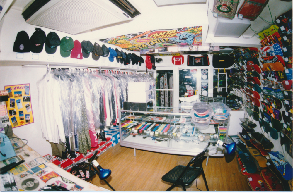 カリフォルニアストリート 八王子 店内写真 1988年