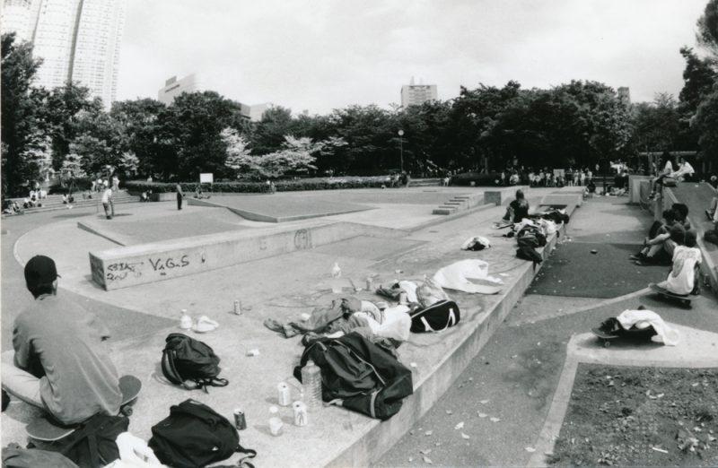 新宿中央公園 ジャブジャブ池 1990年