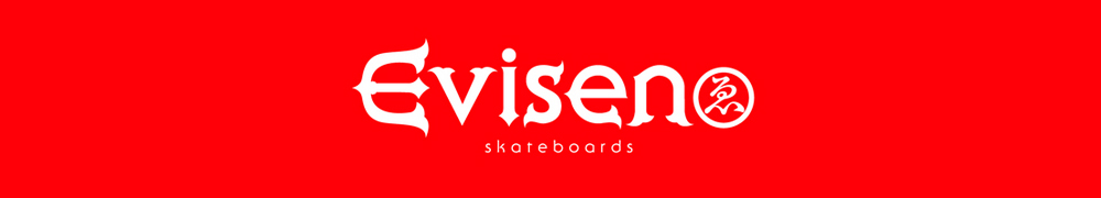 EVISEN SKATEBOARDS, エビセン スケートボード, LOGO