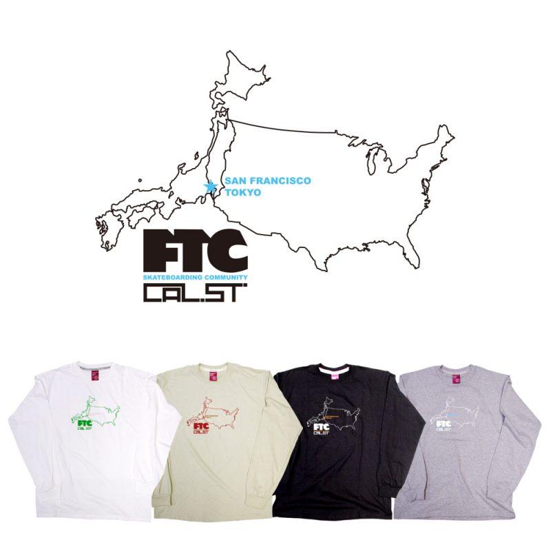 CALIFORNIA STREET x FTC カリフォルニアストリートと FTC のコラボロングスリーブTシャツ 2004年