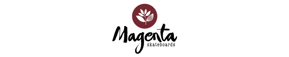 MAGENTA SKATEBOARDS LOGO