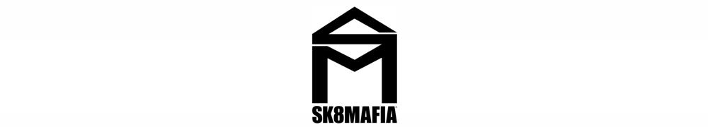 SK8MAFIA SKATEBOARDS, スケートマフィア スケートボード, logo