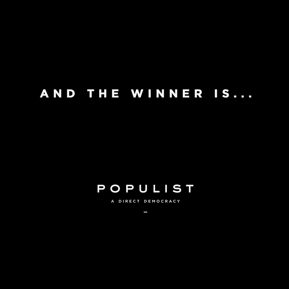【海外・INFO】THE BERRICS : POPULIST THE WINNER IS…