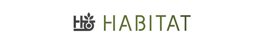 HABITAT SKATEBOARDS, ハビタット スケートボード, logo
