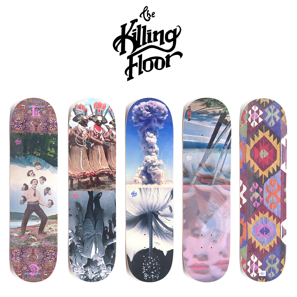 【商品情報】デッキ : THE KILLING FLOOR SKATEBOARDS – PARADOX、MAGIC CARPET