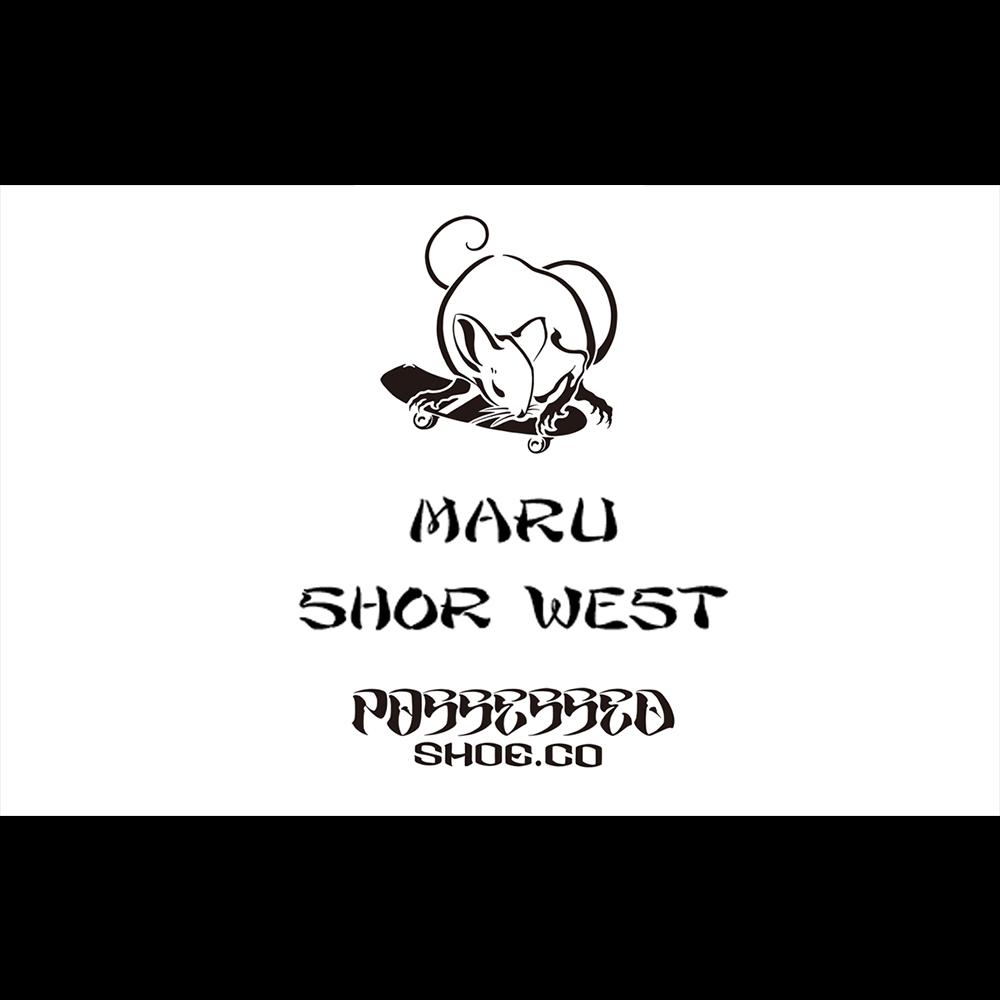 【国内・INFO】POSSESSED SHOES : MARU & SHOR WEST in 台湾