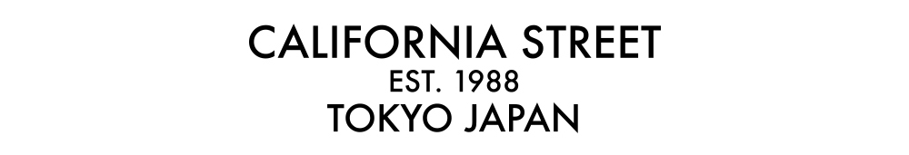 カリフォルニアストリート, スケートボード, スケボー, logo