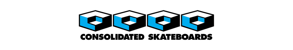 CONSOLIDATED SKATEBOARDS, コンソリデーテッド スケートボード, LOGO