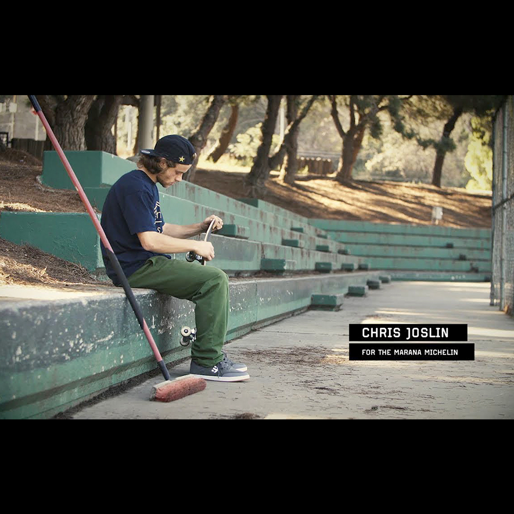 【海外・INFO】ETNIES : CHRIS JOSLIN FOR THE MARANA MICHELIN
