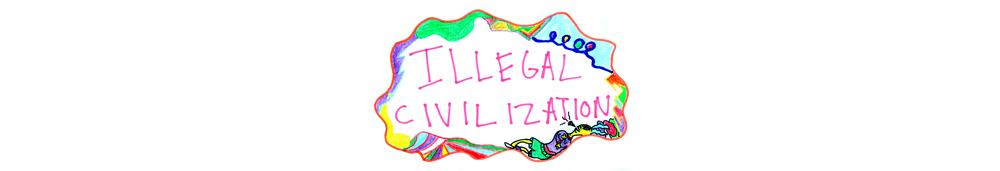 ILLEGAL CIVILIZATION, イリーガル シビライゼーション, logo