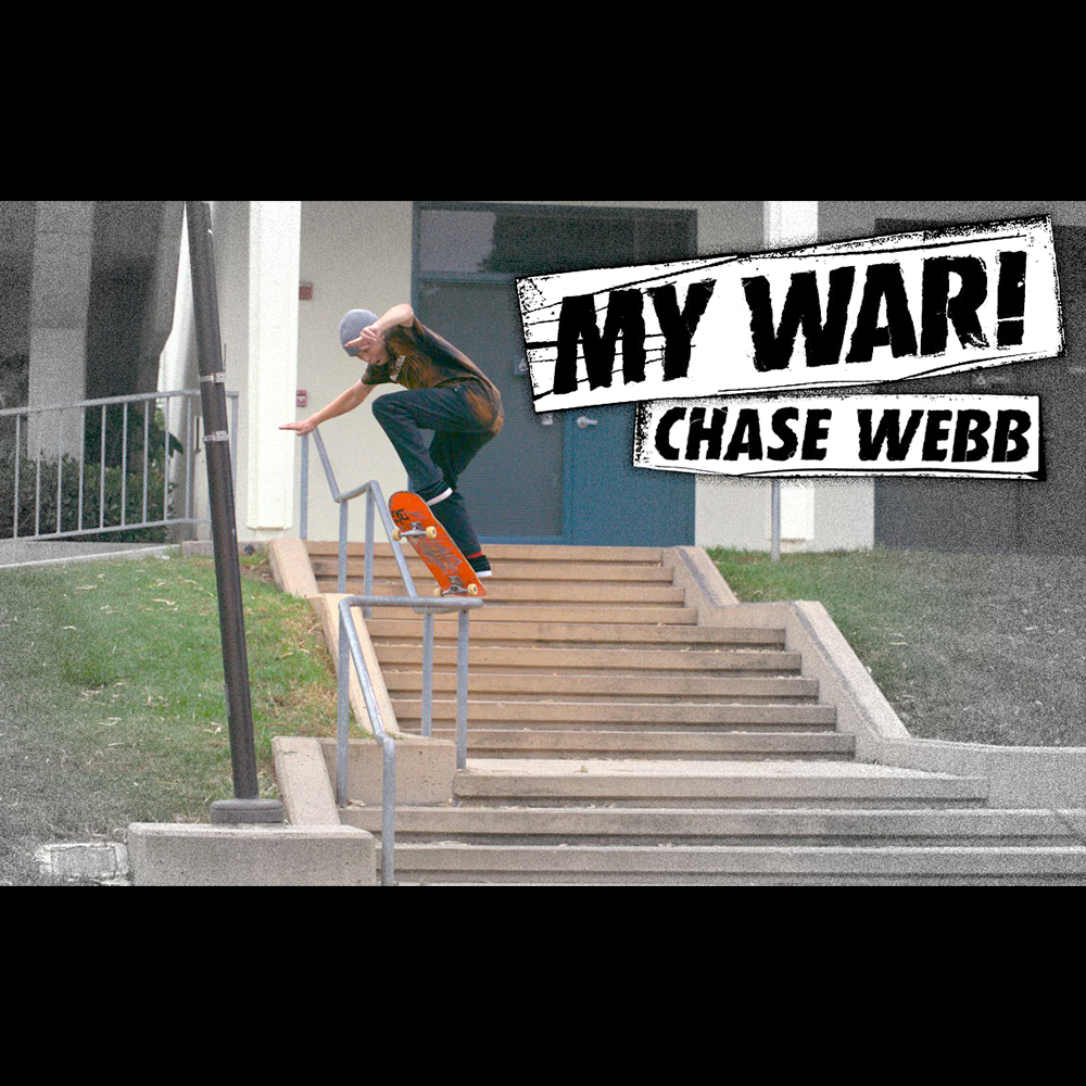 【海外・INFO】MY WAR : CHASE WEBB