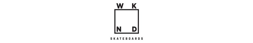 WKND SKATEBOARDS, ウィークエンド スケートボード, LOGO
