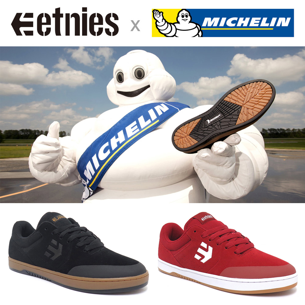 【商品情報】ETNIES SHOES x MICHELIN TIRE : RYAN SHECKLER、CHRIS JOSLIN の新色が入荷。
