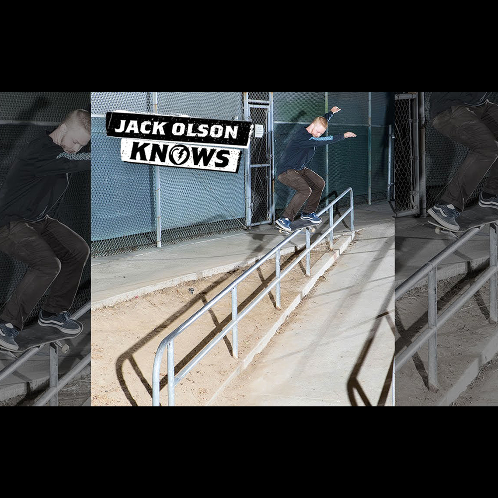 【海外・INFO】THUNDER TRUCKS : JACK OLSON KNOWS