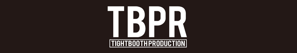 TIGHTBOOTH PRODUCTION, TBPR, タイトブース プロダクション, LOGO