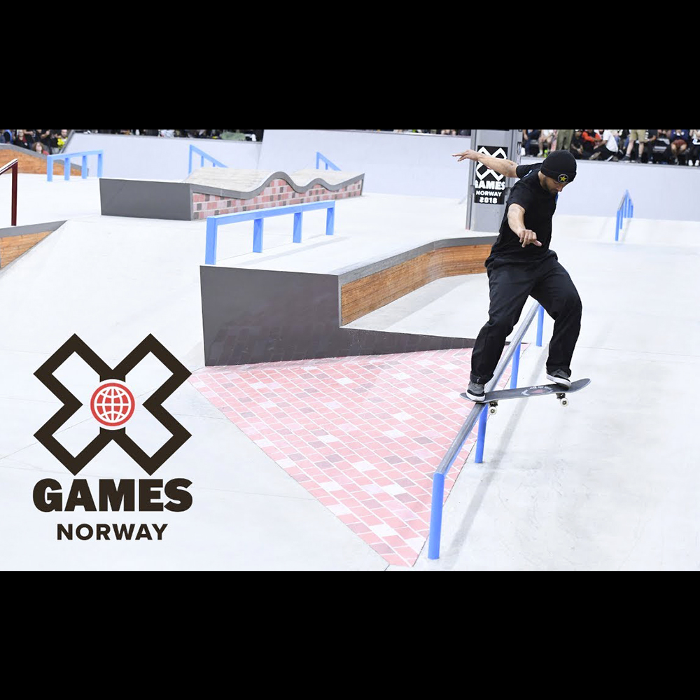 【海外・INFO】X GAMES 2018 : NORWAY – MEN'S STREET FINAL