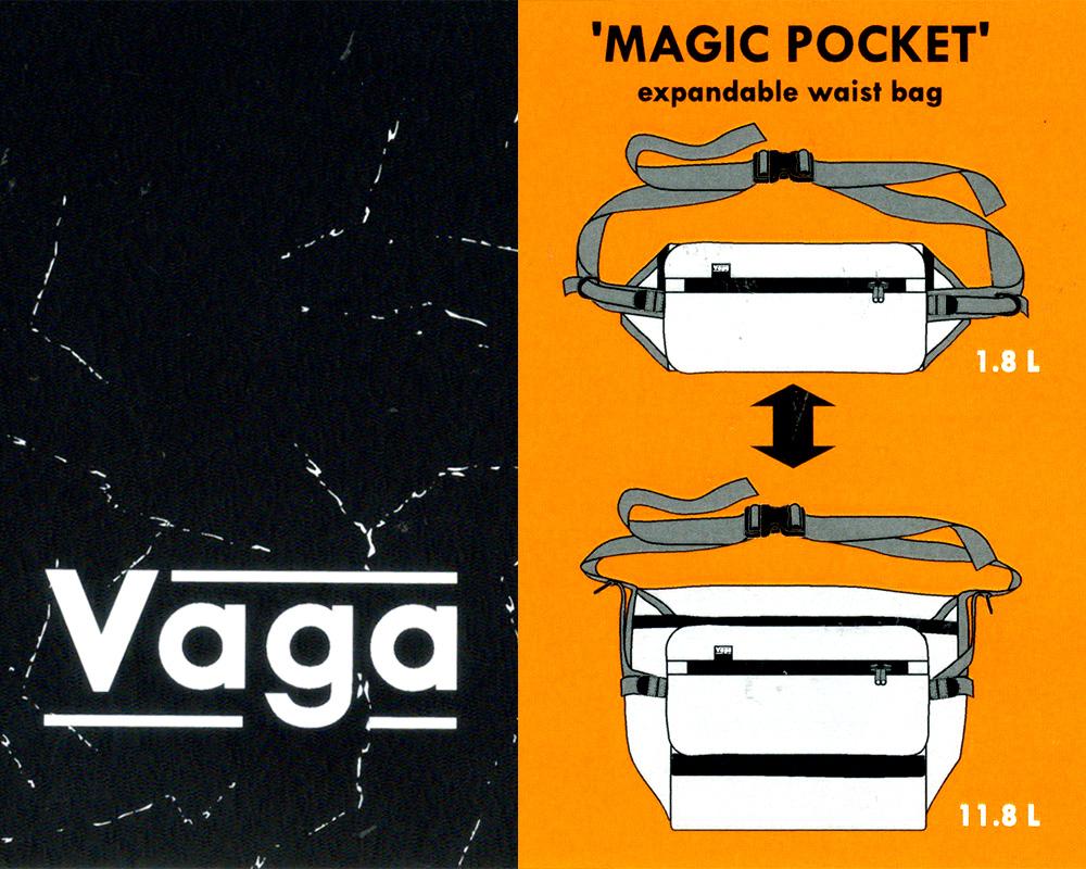 """【徹底解析】VAGA """"MAGIC POCKET"""" BAG がマジックな訳"""