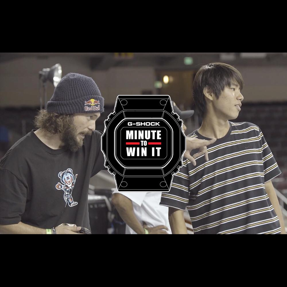 【海外・INFO】YUTO HORIGOME : G SHOCK – MINUTE TO WIN IT