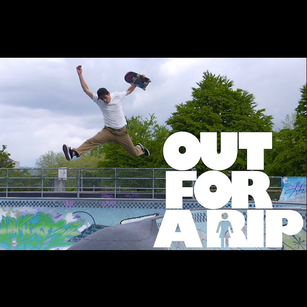【海外・INFO】GIRL SKATEBOARDS : OUT FOR A RIP