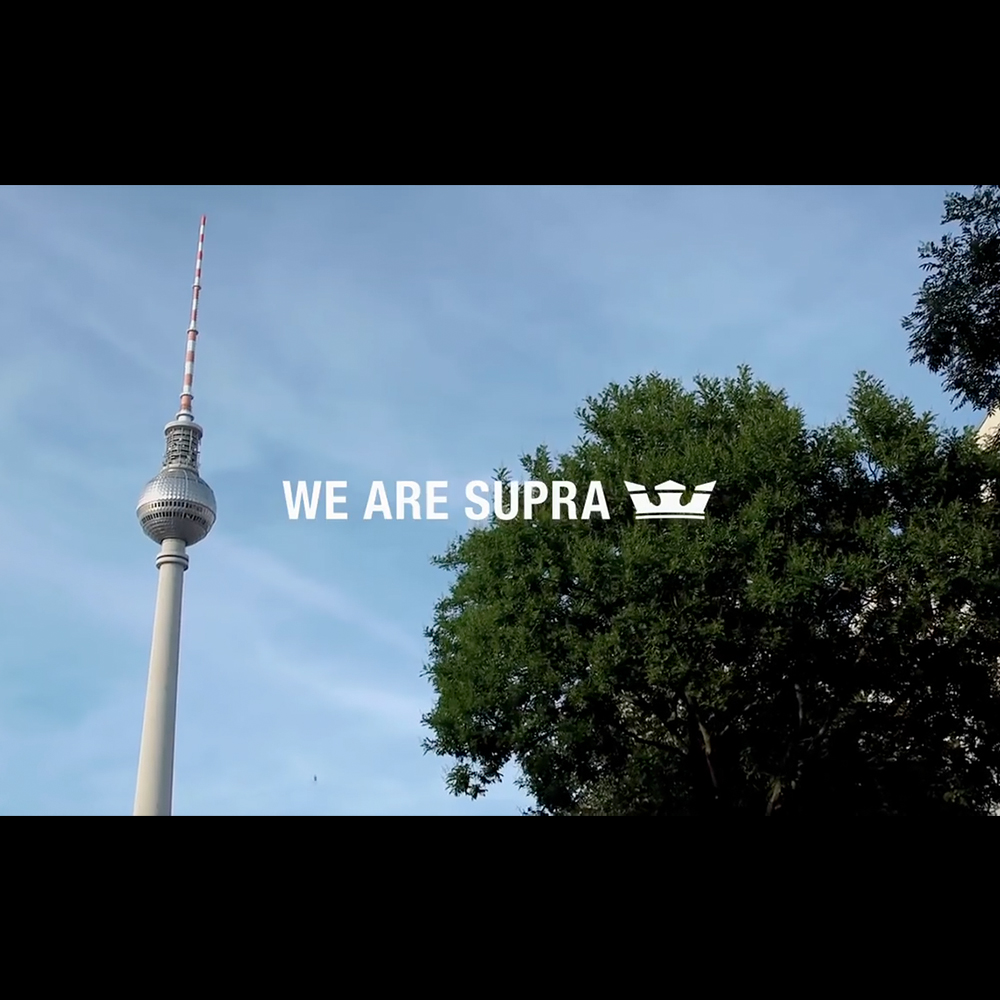 【海外・INFO】SUPRA : WE ARE SUPRA – BERLIN