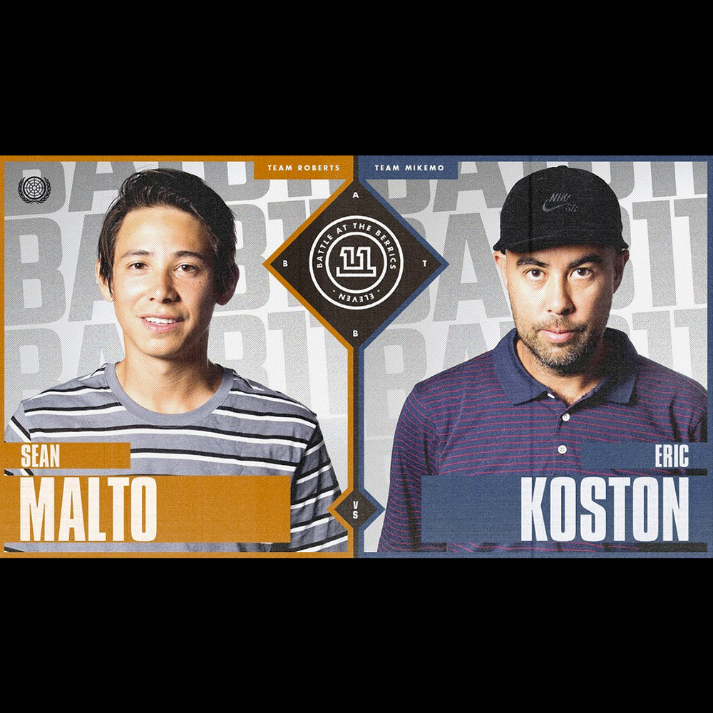 【海外・INFO】BATB 11 : SEAN MALTO vs ERIC KOSTON