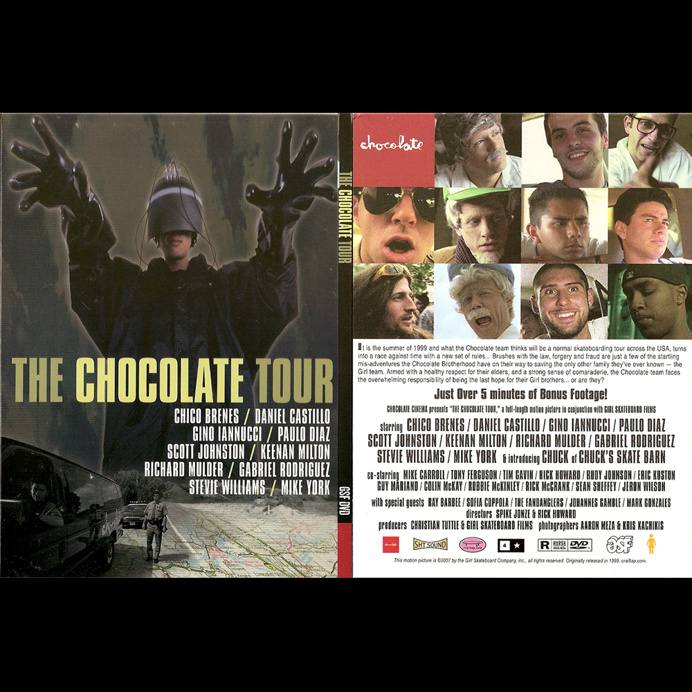 【海外・INFO】CHOCOLATE SKATEBOARDS : THE CHOCOLATE TOUR