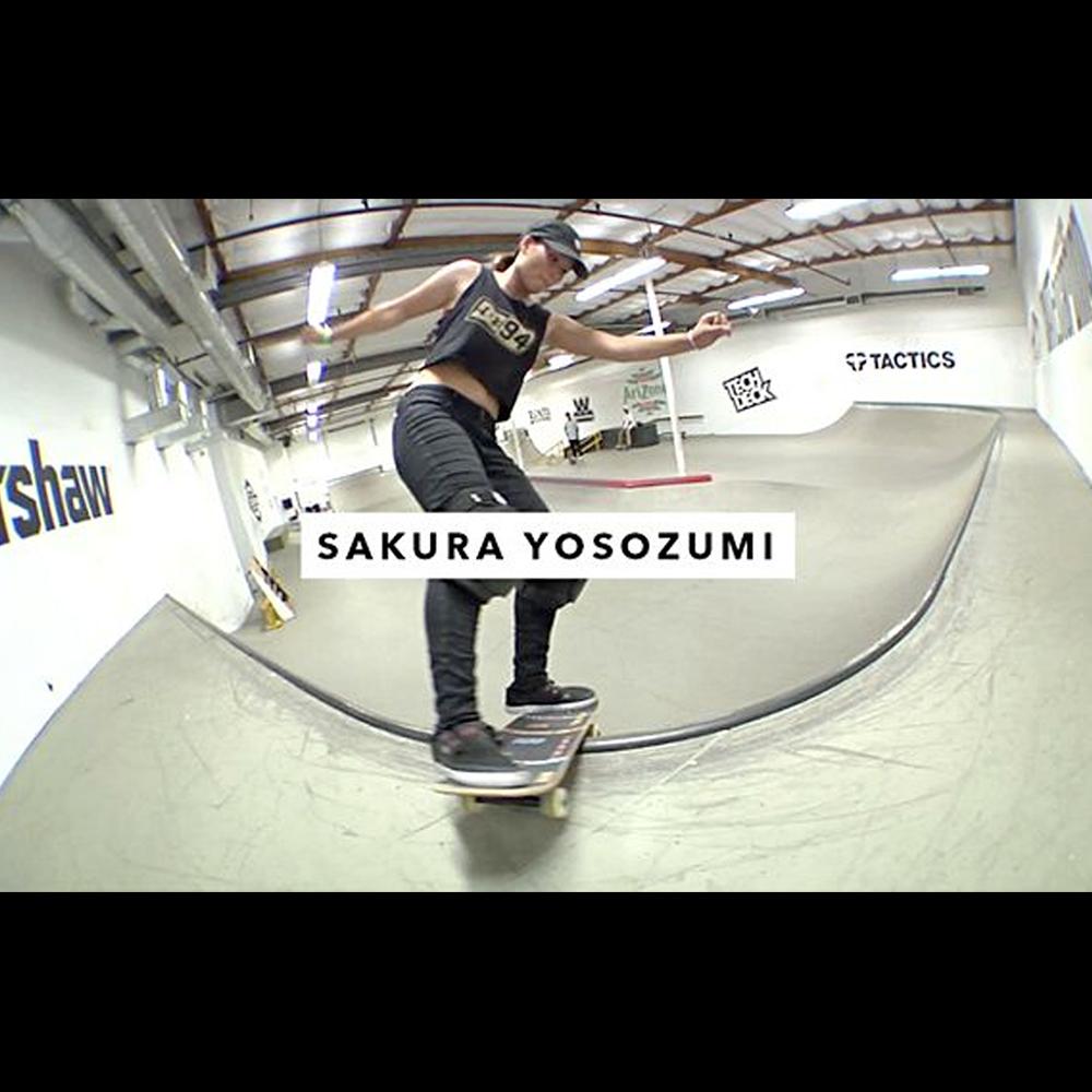 【海外・INFO】TWS PARK : SAKURA YOSOZUMI – 四十住さくらが、トランスワールド パークを攻略。