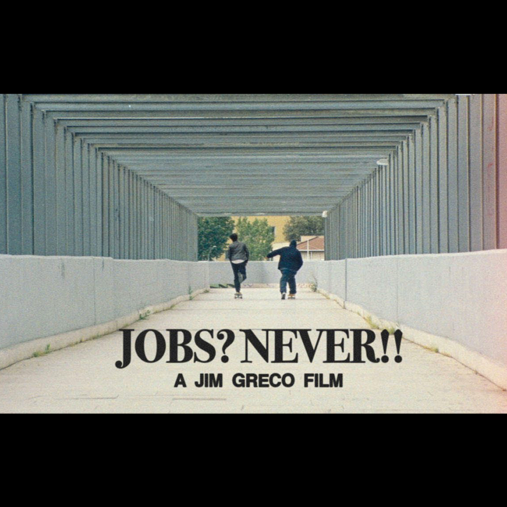 【海外・INFO】JIM GRECO : JOBS? NEVER!!