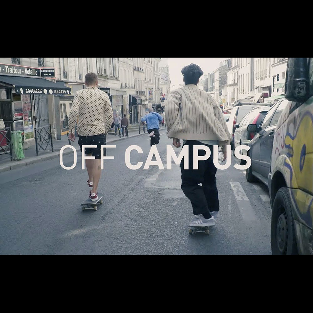 【海外・INFO】ADIDAS SKATEBOARDING : INTRODUCING /// OFF CAMPUS