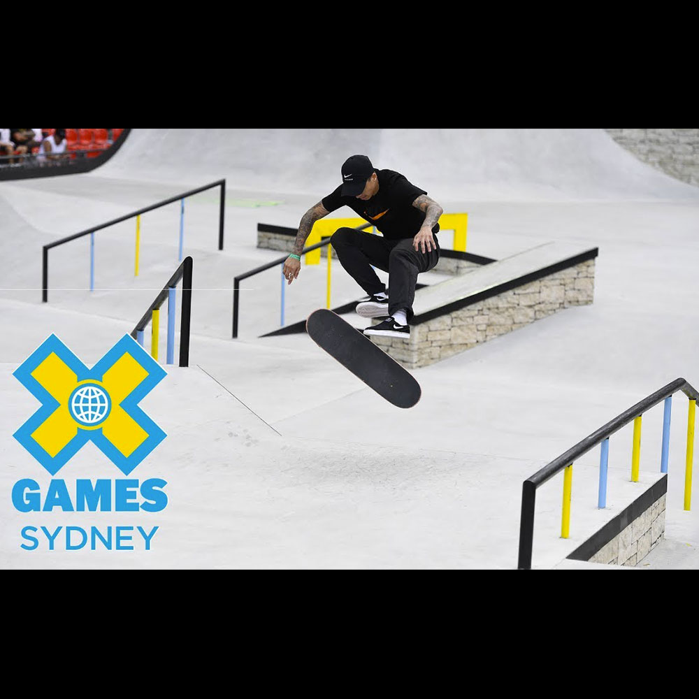 【海外・INFO】X GAMES : SYDNEY 2018 – MEN'S STREET QUALIFIER
