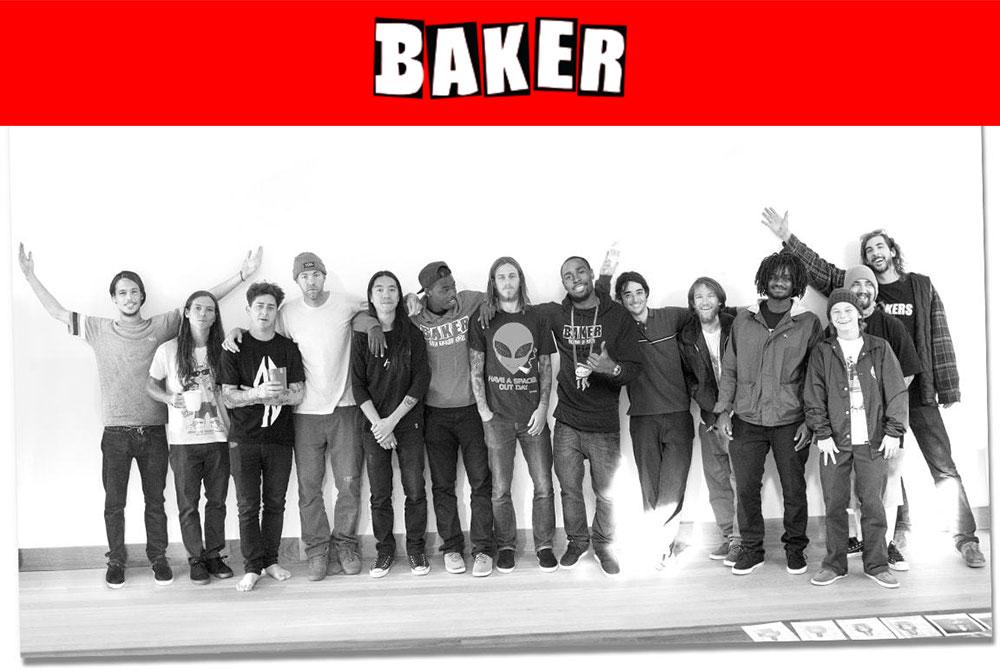 BAKER SKATEBOARDS TEAM